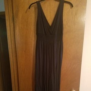 Old navy black maxi dress size medium